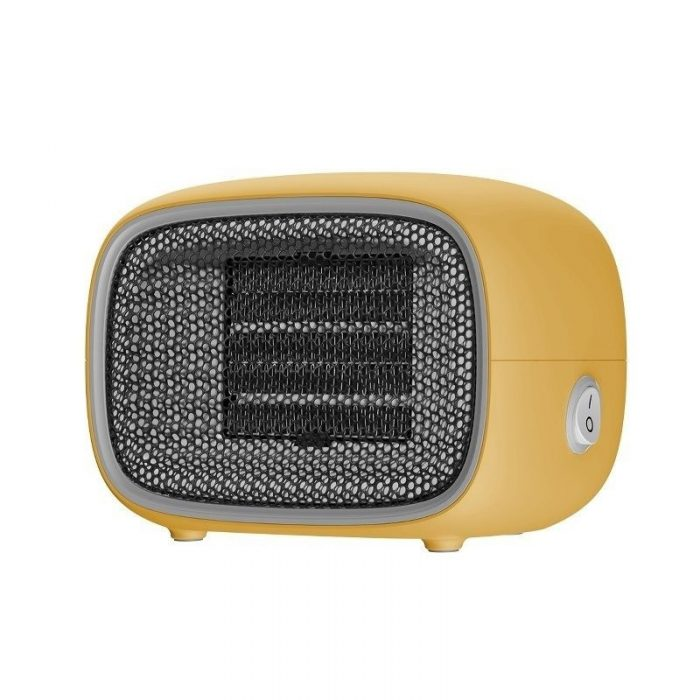 baseus warm little white fan heater (eu) yellow - baseus 6953156210752 11