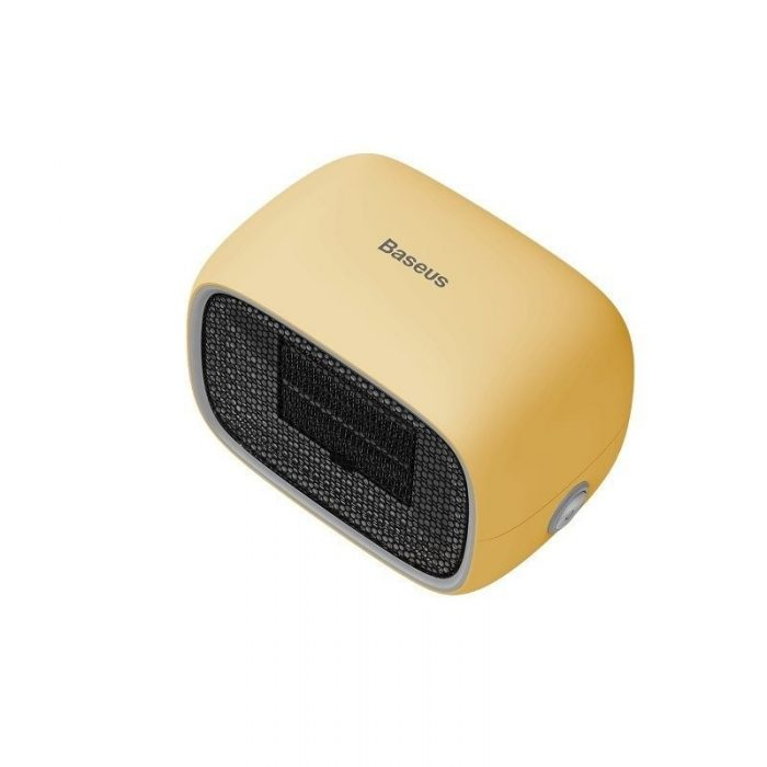 baseus warm little white fan heater (eu) yellow - baseus 6953156210752 2 1