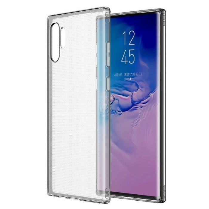 baseus simple series (anti-fall) case for note10+ transparent - baseus 6953156210967 1 1