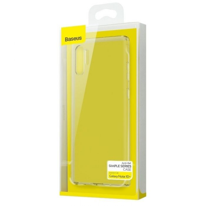 baseus simple series (anti-fall) case for note10+ transparent - baseus 6953156210967 6 1