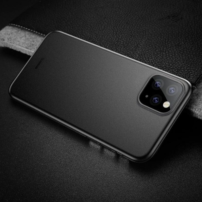 baseus wing case for iphone 11 pro 5.8inch (2019) solid black - baseus 6953156211117 6