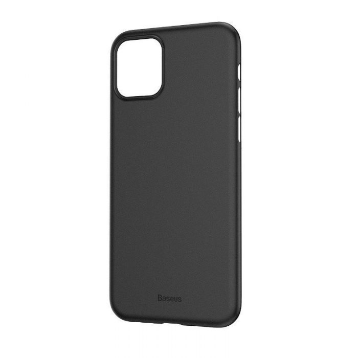 baseus wing case for iphone 11 6.1inch (2019) solid black - baseus 6953156211148 1
