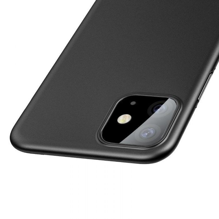 baseus wing case for iphone 11 6.1inch (2019) solid black - baseus 6953156211148 4