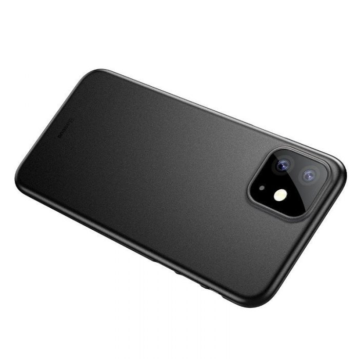 baseus wing case for iphone 11 6.1inch (2019) solid black - baseus 6953156211148 5