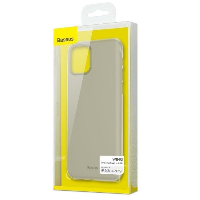baseus wing case for ip11 pro max 6.5 white - baseus 6953156211162 7