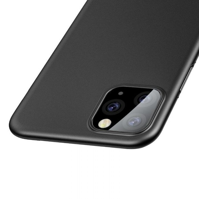 baseus wing case for iphone 11 pro 6.5inch (2019) solid black - baseus 6953156211179 3