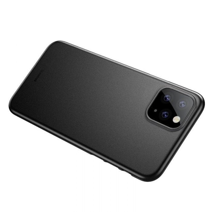 baseus wing case for iphone 11 pro 6.5inch (2019) solid black - baseus 6953156211179 4