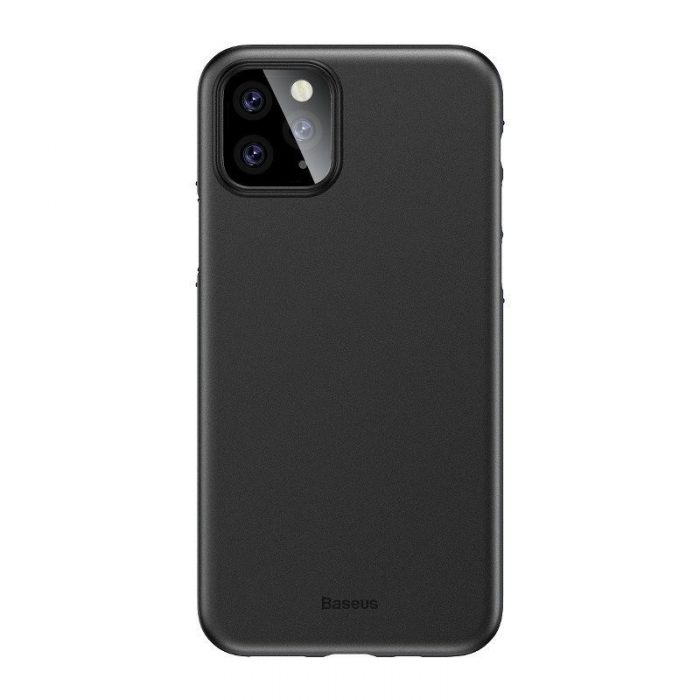 baseus wing case for iphone 11 pro 6.5inch (2019) solid black - baseus 6953156211179