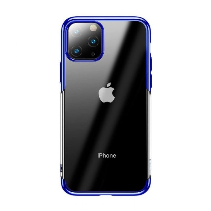 baseus shining case apple iphone 11 pro max 6.5 blue - baseus 6953156211384 1