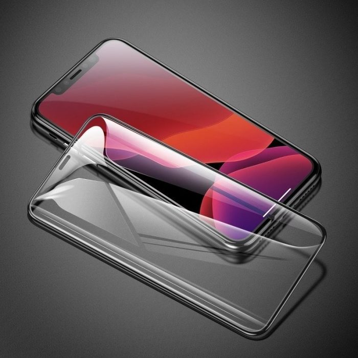 baseus 0.3mm full-screen and full-glass tempered glass (2pcs pack) for iphone 11 pro 6.5 inch - baseus 6953156211797 5