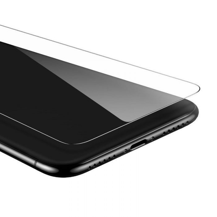 baseus 0.15mm full-glass tempered glass film(2pcs pack) for iphone 11 6,1 inch - baseus 6953156211834 2