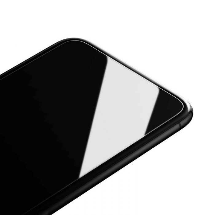 baseus 0.15mm full-glass tempered glass film(2pcs pack) for iphone 11 6,1 inch - baseus 6953156211834 4