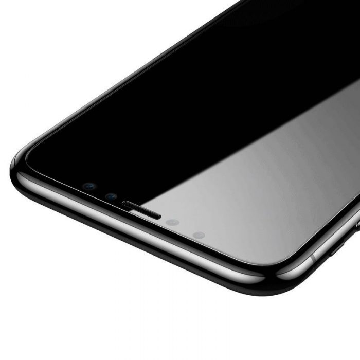 baseus 0.15mm full-glass tempered glass (2pcs pack) for iphone 11 pro 6,5 inch - baseus 6953156211858 3