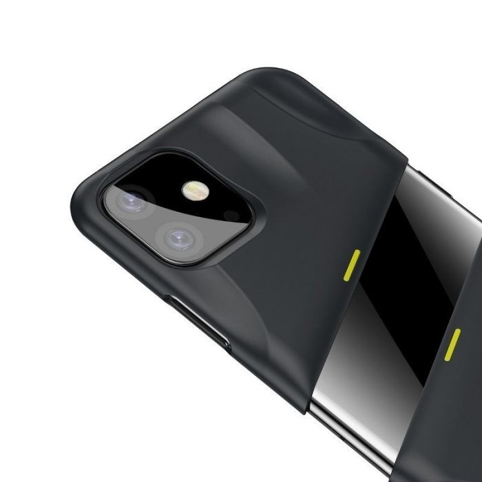 baseus let's go airflow coolinggame protective kryt for ip11 6.1inch (2019) grey&yellow - baseus 6953156211940 4