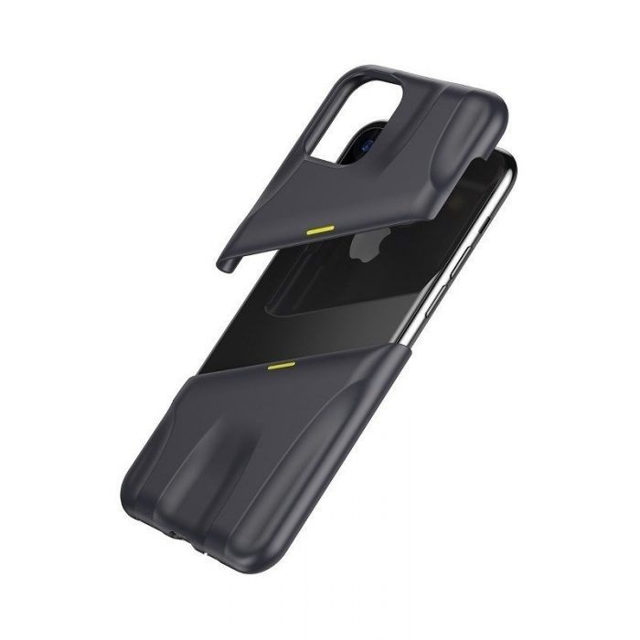baseus let's go airflow coolinggame protective kryt for ip11 6.1inch (2019) grey&yellow - baseus 6953156211940 5