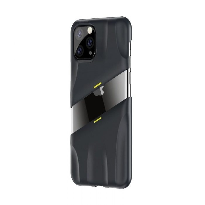 baseus let's go airflow coolinggame protective case for ip11 pro max 6.5inch (2019) grey&yellow - baseus 6953156211964 2
