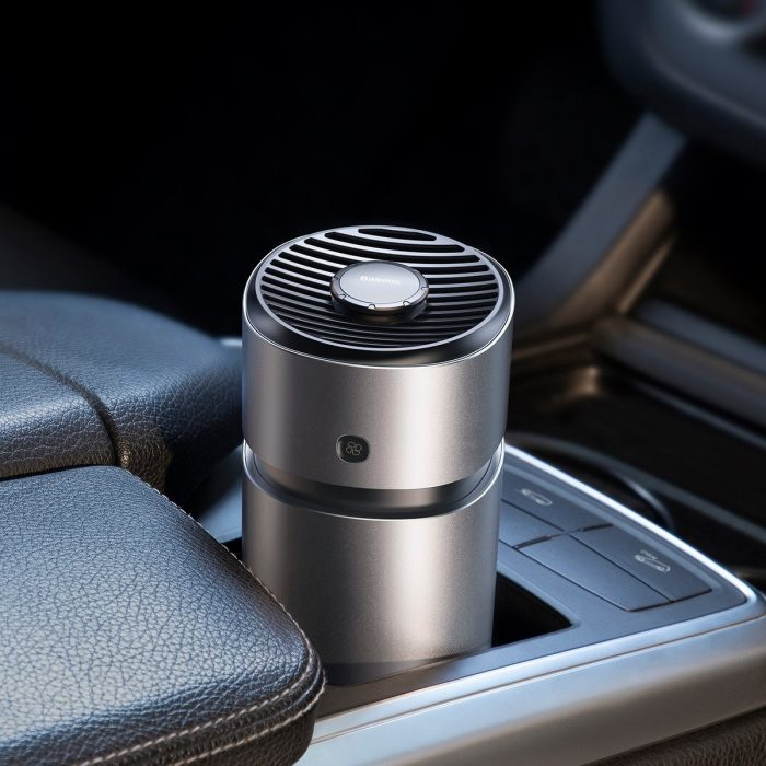 breeze fan air freshener for vehicles (with formaldehyde purification function) silver - baseus 6953156219588 4 1