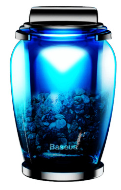 baseus zeolite car refresher blue - baseus 6953156267282