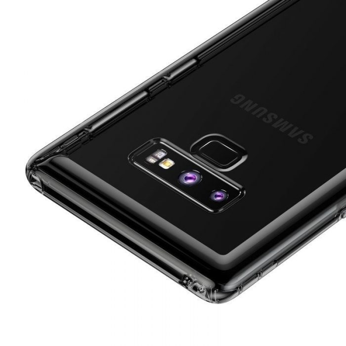 baseus safety airbags case transparent black for samsung galaxy note 9 - baseus 6953156279537 5 1