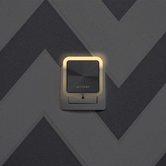 blitzwolf bw-lt14 plug-in dual usb sensor night light 2x usb - blitzwolf 5907489602051 4 1