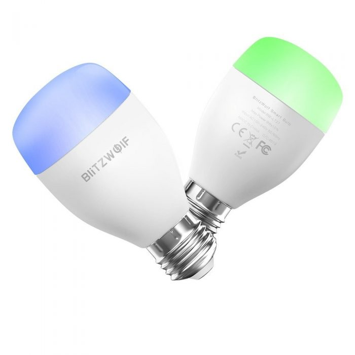 blitzwolf smart rgb light bw-lt27, wifi, e27 - blitzwolf 5907489603508 1 1