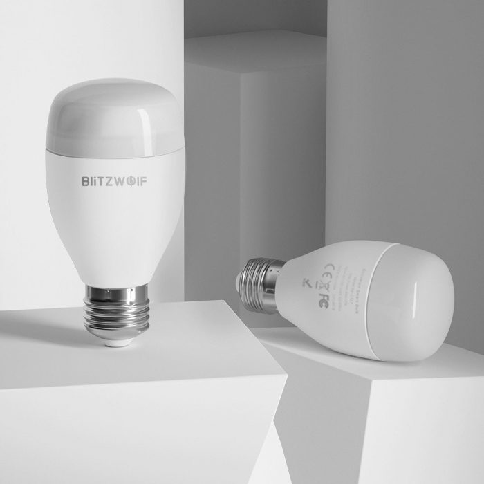 blitzwolf smart rgb light bw-lt27, wifi, e27 - blitzwolf 5907489603508 4 1