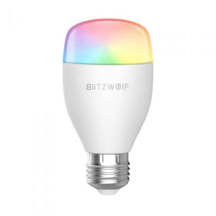 blitzwolf smart rgb light bw-lt27, wifi, e27 - blitzwolf 5907489603508 5