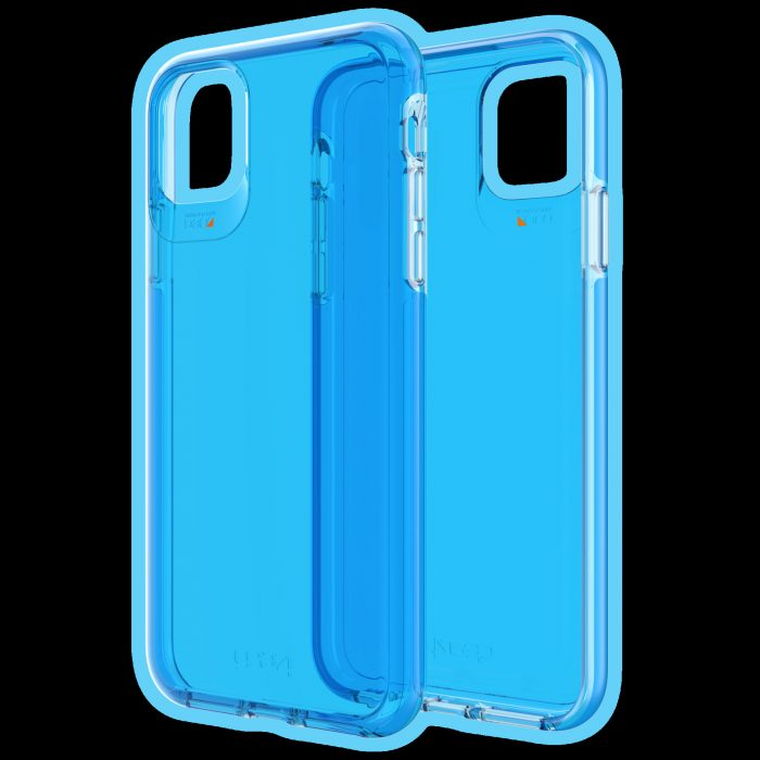 gear4 d3o crystal palace apple iphone 11 pro max (neon blue) - gear4 840056101005 1