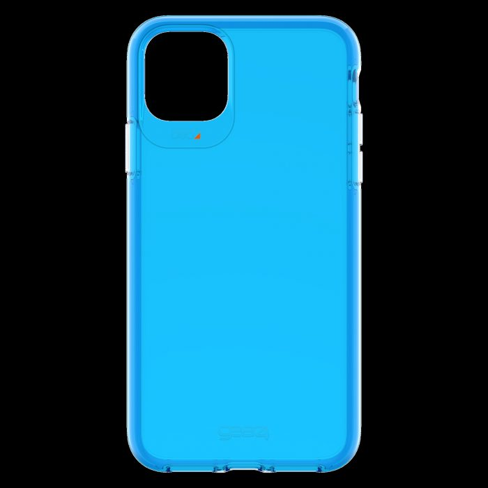 gear4 d3o crystal palace apple iphone 11 pro max (neon blue) - gear4 840056101005 2
