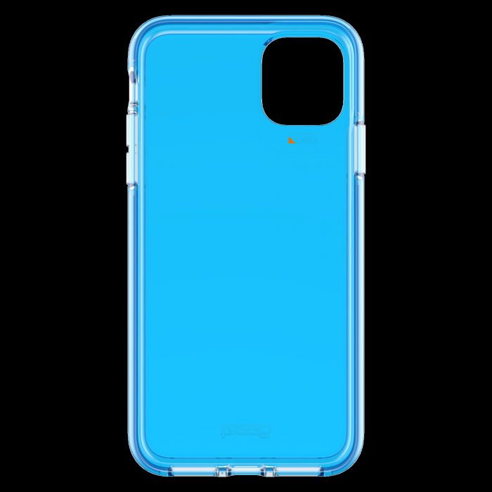gear4 d3o crystal palace apple iphone 11 pro max (neon blue) - gear4 840056101005
