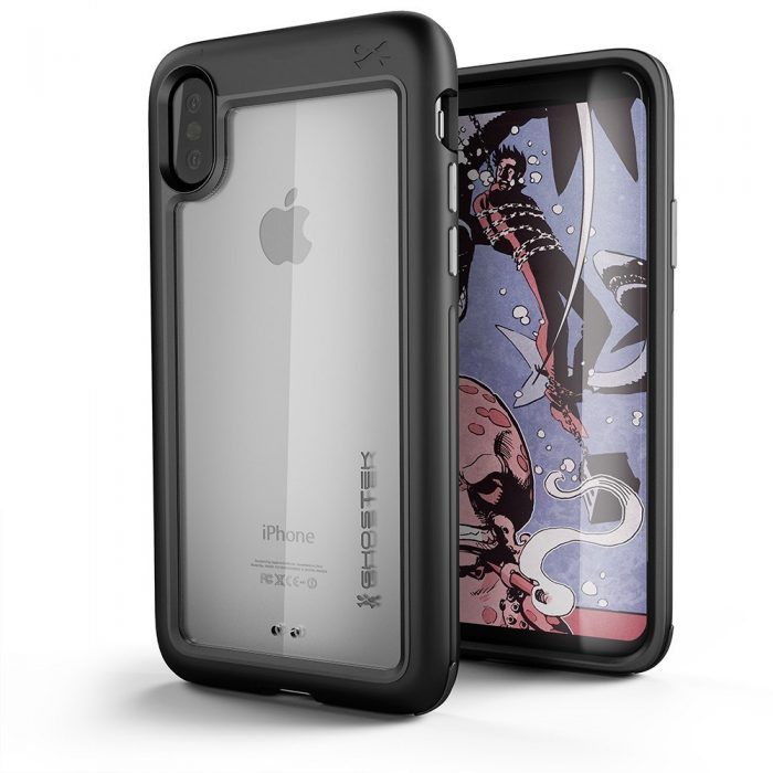 ghostek atomic slim iphone xs/x 5.8 čierna - ghostek 643217499863