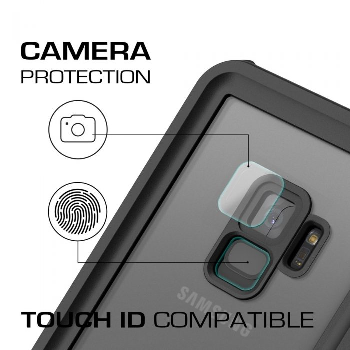 waterproof case ghostek nautical 2 samsung galaxy s9 black - ghostek 811663030002 4 1