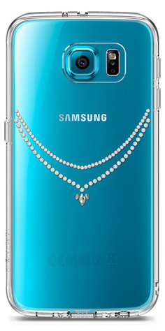 ringke noble crystal necklace samsung galaxy s6 edge - ringke 8809419558759