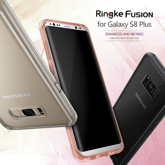 ringke fusion samsung galaxy s8 plus rose gold crystal - ringke 8809525015658 6 1