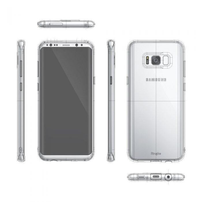 ringke air samsung galaxy s8 plus crystal view - ringke 8809525017768 3 1