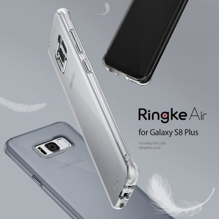 ringke air samsung galaxy s8 plus crystal view - ringke 8809525017768 6 1