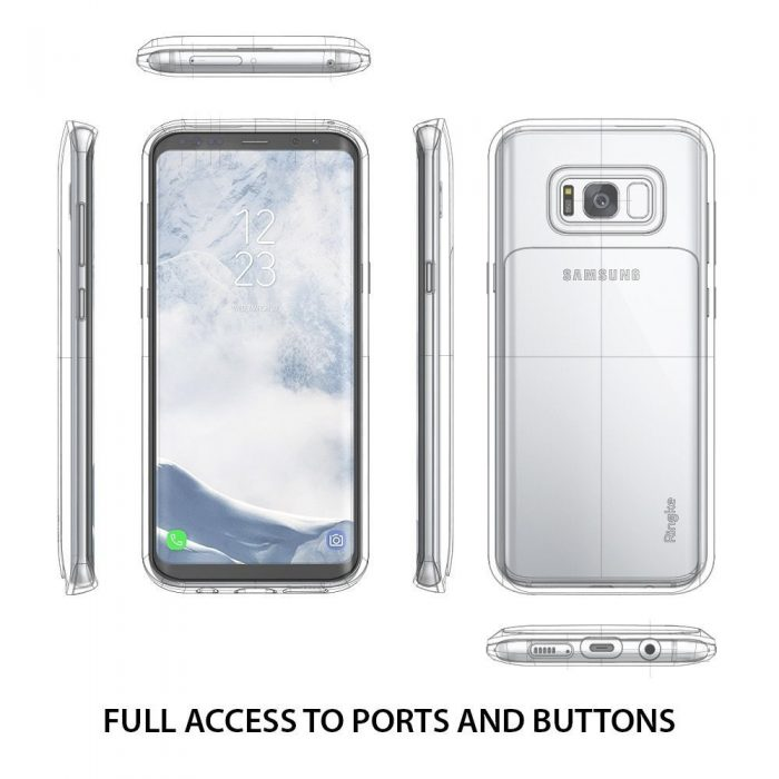 ringke acces wallet samsung galaxy s8 plus gloss white - ringke 8809525019540 3 1