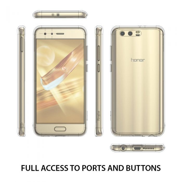 ringke fusion huawei honor 9 rose gold - ringke 8809550343245 2 1