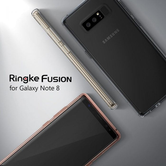 ringke fusion samsung galaxy note 8 clear - ringke 8809550344020 2 1