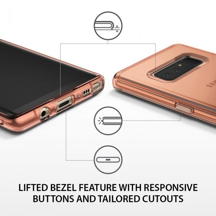 ringke air samsung galaxy note 8 rose gold - ringke 8809550344358 4 1
