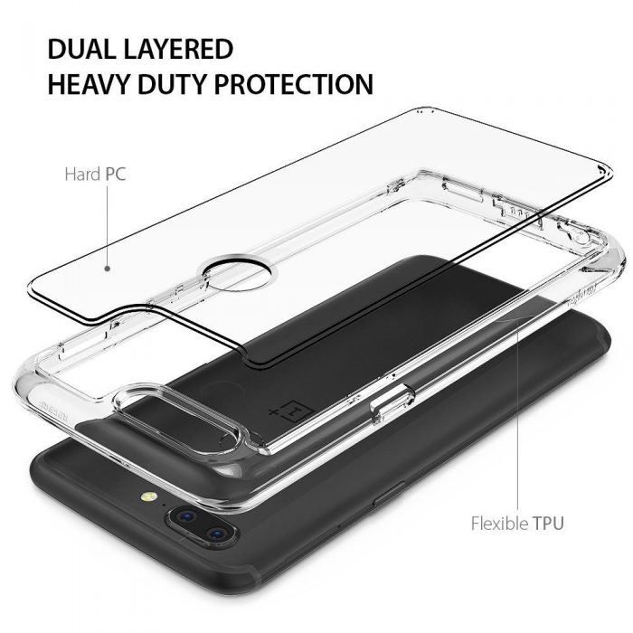 ringke fusion oneplus 5t clear - ringke 8809583841701 3 1