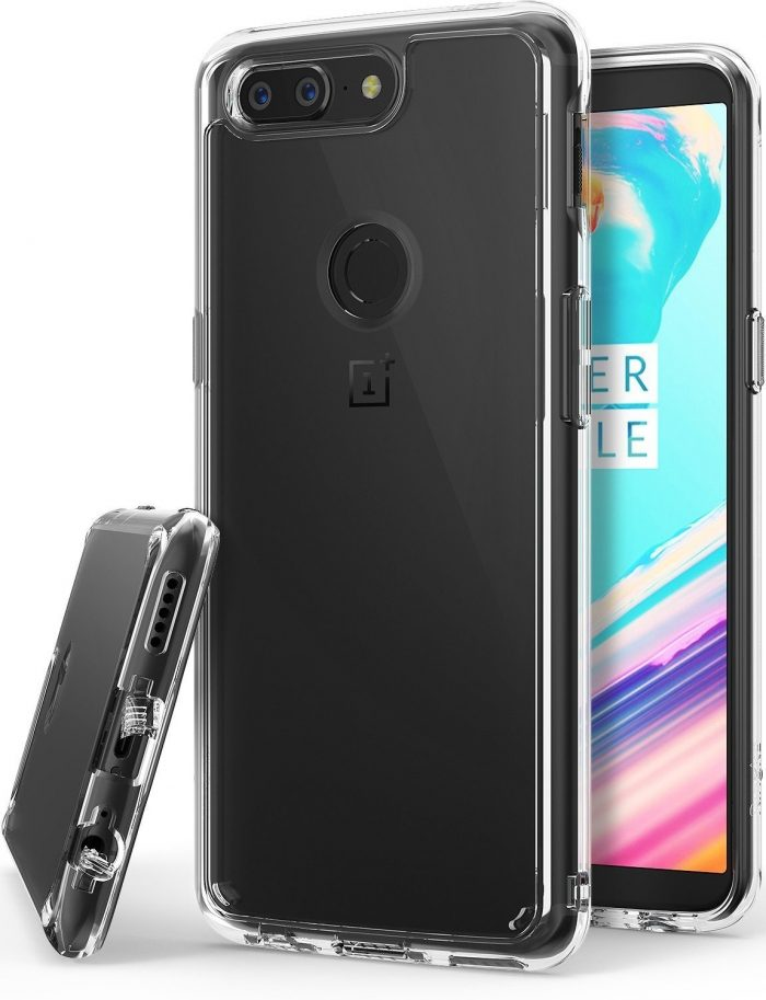 ringke fusion oneplus 5t clear - ringke 8809583841701 6