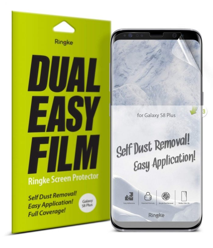 ringke dual easy full cover samsung galaxy s8 plus case friendly - ringke 8809628564206 9