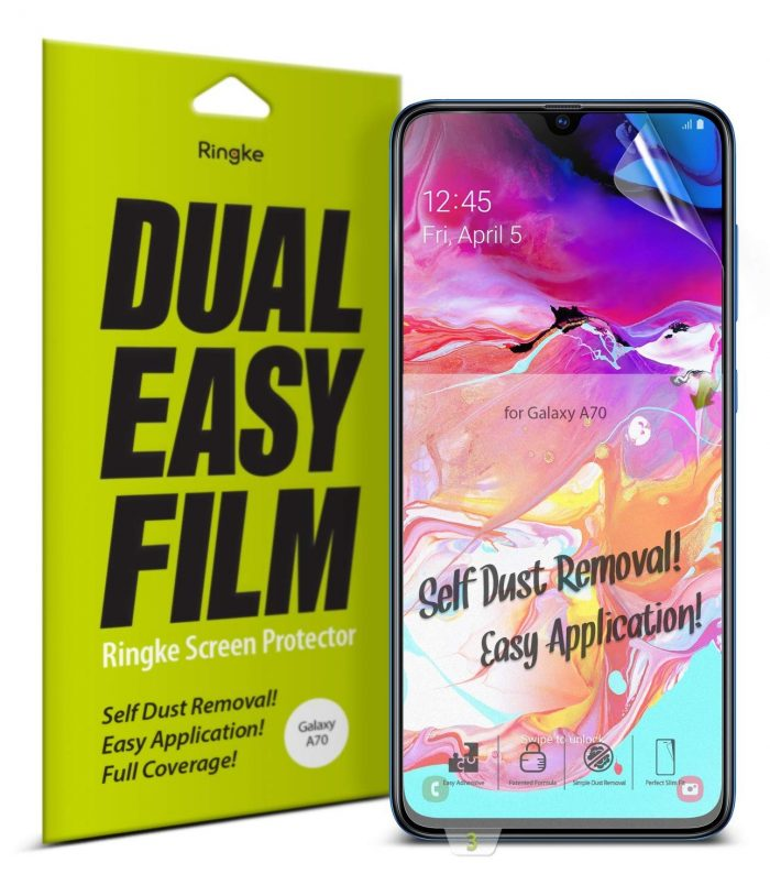 ringke dual easy full cover samsung galaxy a70 case friendly - ringke 8809659047228