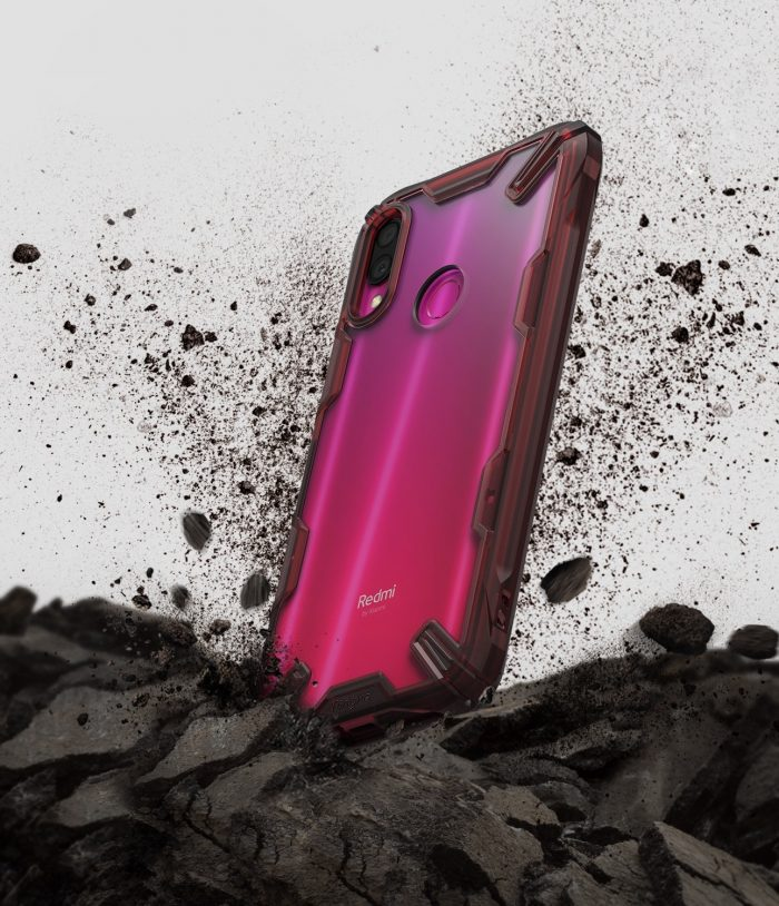 ringke fusion-x redmi note 7 ruby red - ringke 8809659047525 2 1