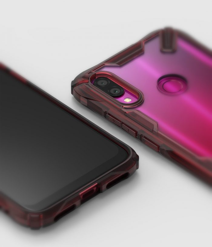 ringke fusion-x redmi note 7 ruby red - ringke 8809659047525 4 1