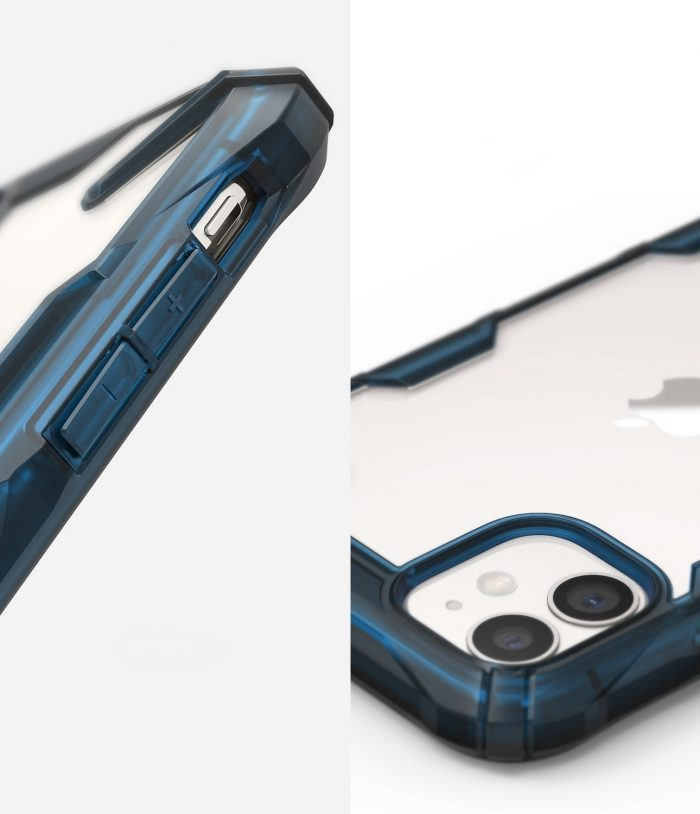 Ringke Fusion-X Apple iPhone 11 Space Blue - RINGKE 8809688891083 3