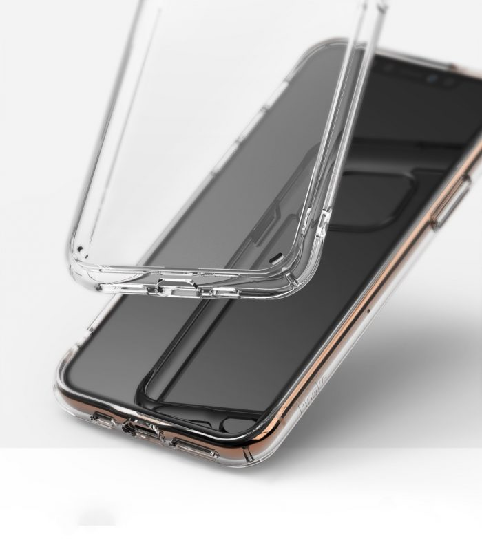 ringke fusion apple iphone 11 pro max clear - ringke 8809688891830 1