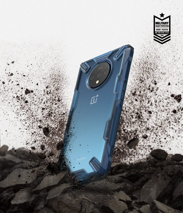 ringke fusion-x oneplus 7t space blue - ringke 8809688895227 4