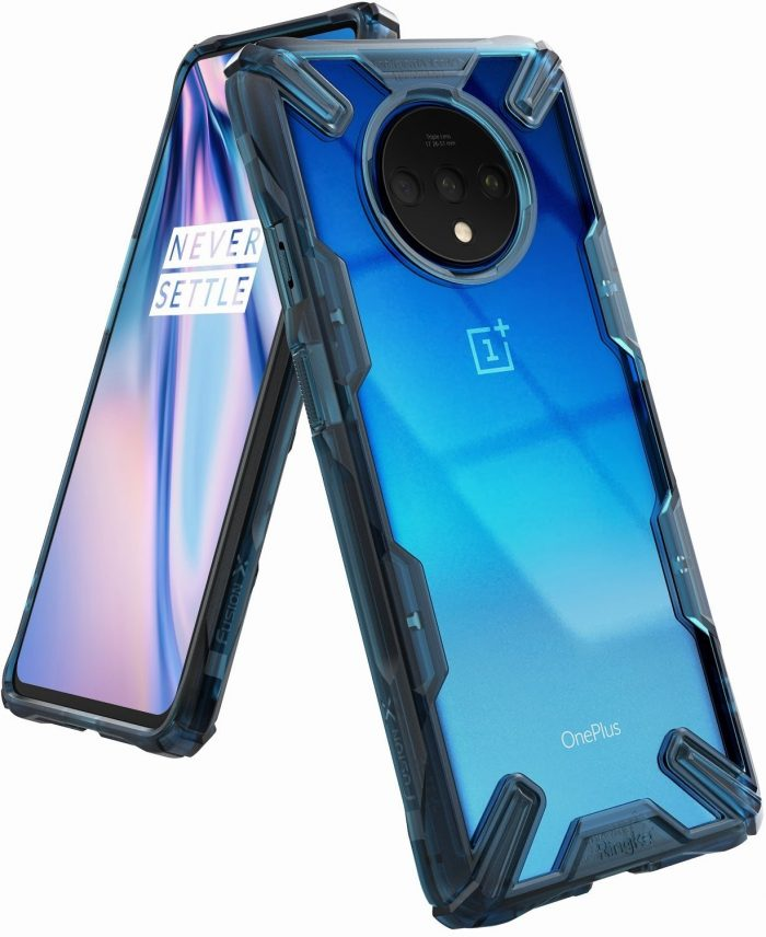 ringke fusion-x oneplus 7t space blue - ringke 8809688895227